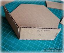 Как сделать коробочку из картона большую