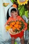 """Ирина Кангаш - Костюм """"Принцесса Мандаринка"""""""