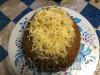 Сырныйхлебсколбасой,бекономиовощами