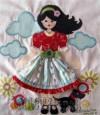 Ксения 68 - Аппликация на футболку для девочек. Идея