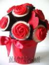 Ксения 68 - Сладкие букеты из кексов с розами