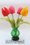Ксения 68 - Тюльпаны. Оригами. Мастер класс. Схема