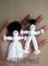 Ксения 68 - Кукла из пряжи