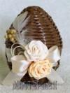 Ксения 68 - Пасхальные яйца из газетных трубочек. МК и идеи