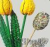 Ксения 68 - Тюльпаны из газетной лозы