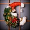 Ксения 68 - Дед мороз из газетной лозы.МК
