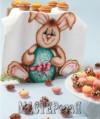 Ксения 68 - Пасхальный кролик. Роспись полотенца