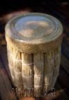 Ксения 68 - Пуфик из пучков соломы