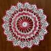 Ксения 68 - Салфетка крючком Роза