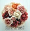 Ксения 68 - Розы объемной вышивкой гладью