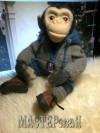 Обезьянкаигрушкаручнойработы-шимпанзеДжоннисльвенком