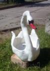 "Nushell - Кашпо садовое ""Лебедь"""