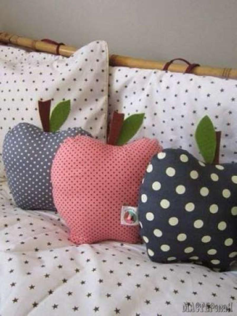 Декоративные подушки своими руками выкройки фото