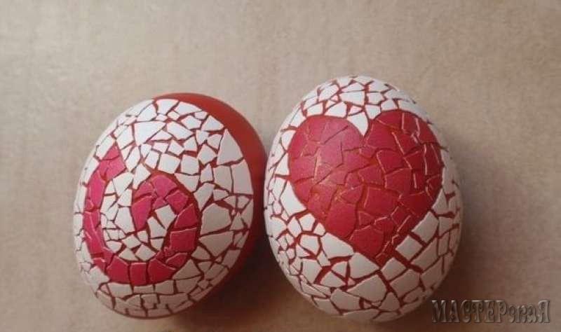 Мастер класс украшения на яйцах