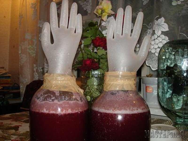 рецепт вино из черносмородинового варенья