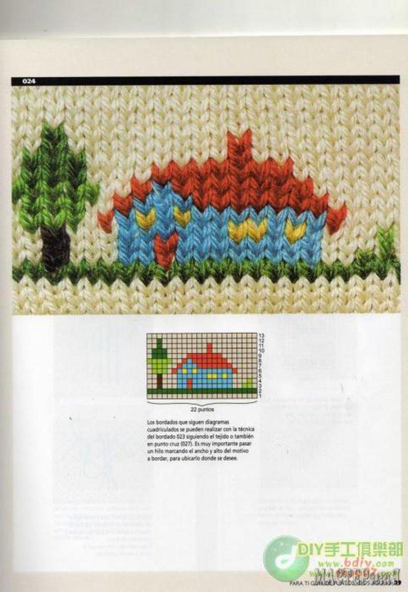 вышивка по вязаному полотну маctерская