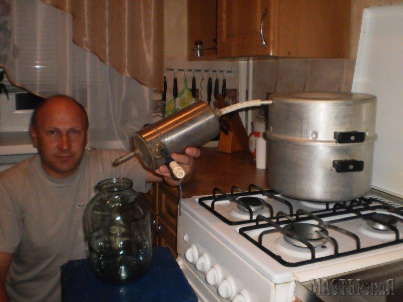 Как сделать компактный самогонный аппарат дома