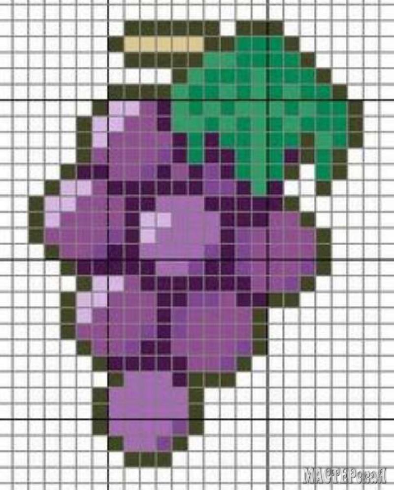 Обезьянка схема вышивки крестиком