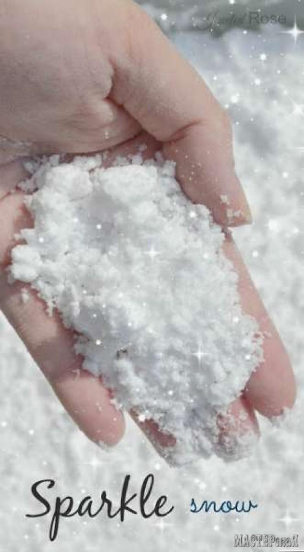 Как сделать иней из соли фото 696